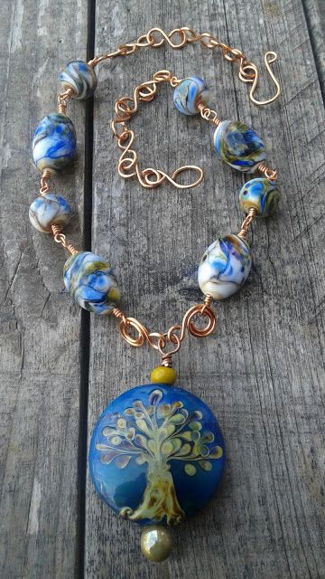 Rowan Tree necklace | The Beadwenches Blogs