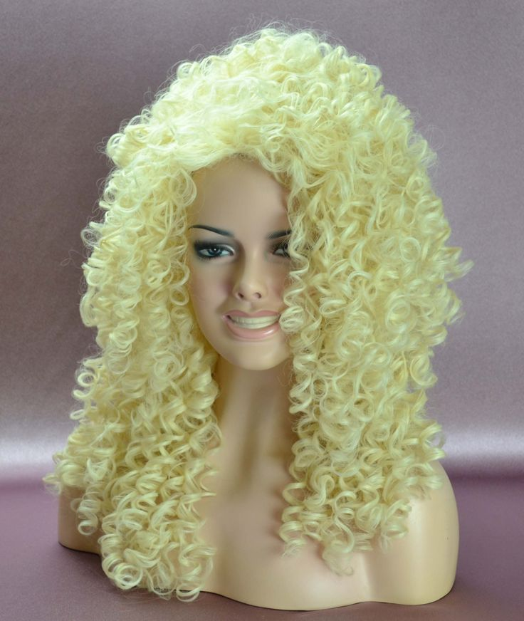 Dolly Curly Long Blonde Wig Http Www