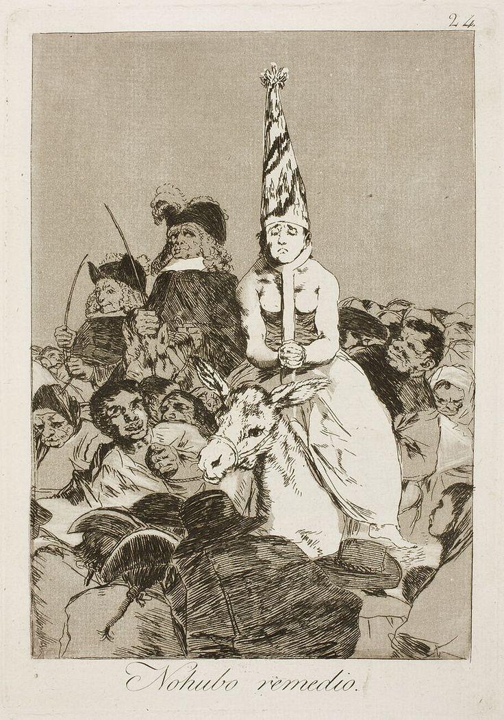 Museo del Prado - Goya - Caprichos - No. 24 - No hubo remedio.jpg