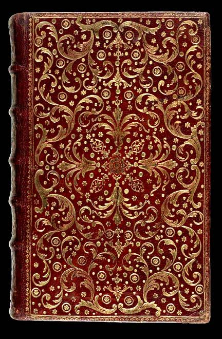 French Decorative Bookbinding Eighteenth Century Pierre