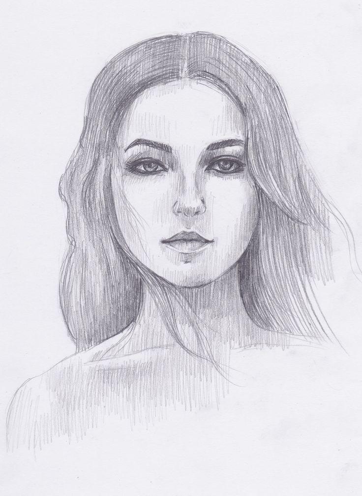 лучший портрет девушки карандашом: 23 тыс изображений найдено в Яндекс.Картинках