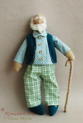 Кукольный Мир Галины Ивановой: Жили были Дед да Баба...