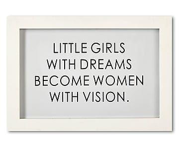 """Nástěnná dekorace """"Little Girls"""", 33 x 23 cm"""