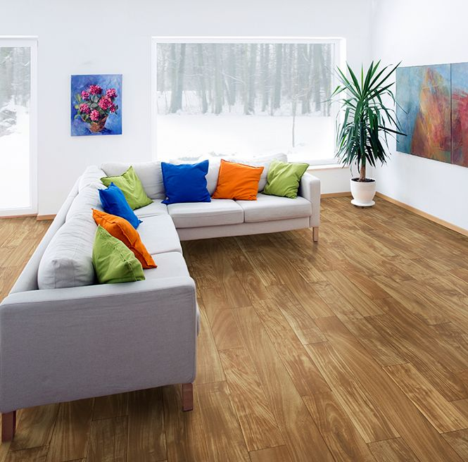 IVC US Flexitec Timeless Traditions   Ultimate Sheet Vinyl Flooring In  Robinia 572