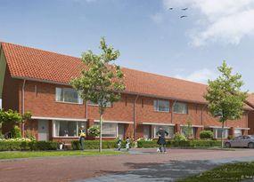 #Oldenzaal - Graven Es. Modern wonen op historische grond. Er is keuze uit verschillende woningtypes: 2 onder 1 kap, tussenwoning, hoekwoning. #nieuwbouw #bouwfonds.