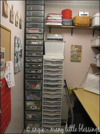 A Small Craft Room Makeover With An Even Smaller Budget Organizing