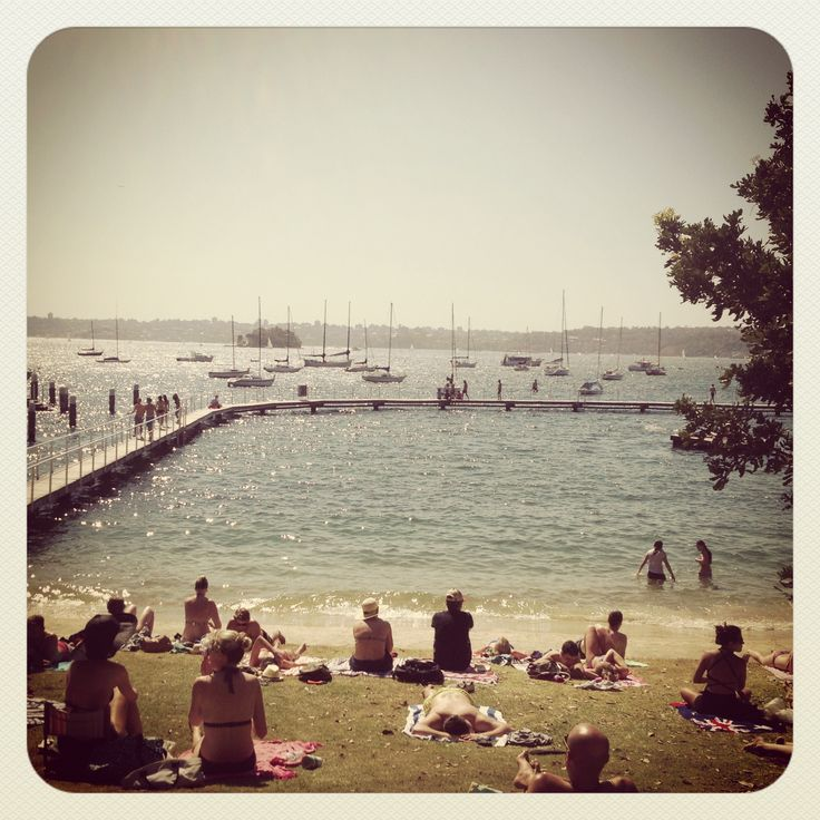 Red Leaf Beach, Rose Bay, Sydney, NSW, Australia. Something so nostalgic about this place.