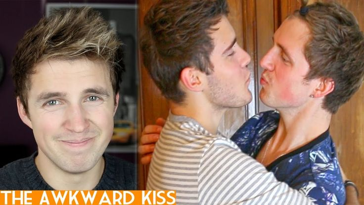 The Awkward Kiss- Marcus Butler. Rofl this is so true!