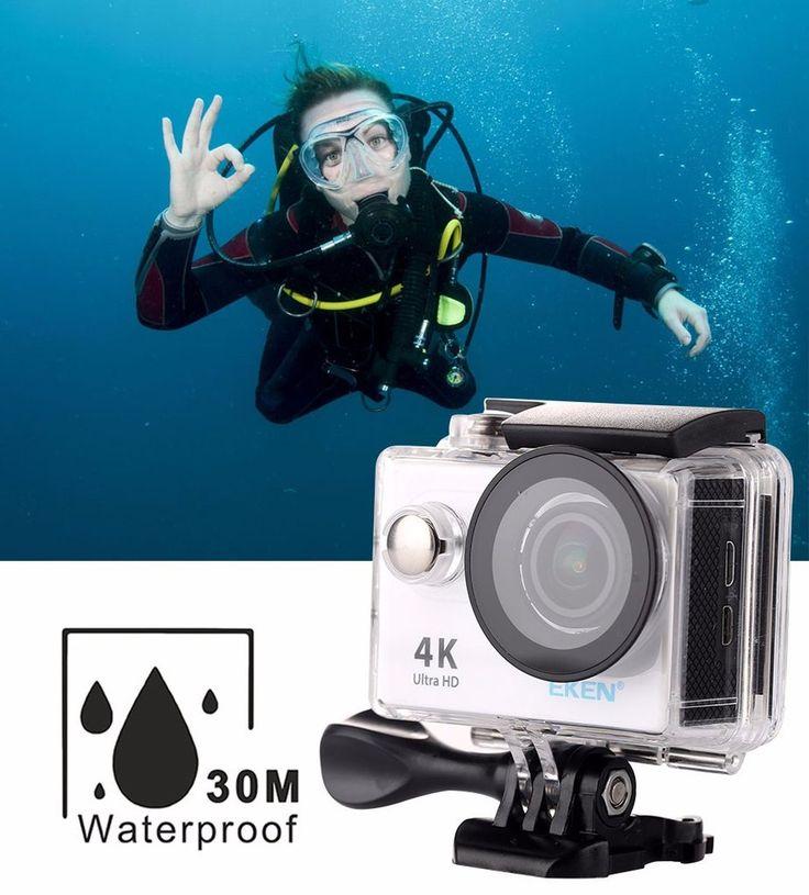 F60 Wifi Action Camera 4K Extreme Mini Diving Cam Waterproof Camera Sport DV