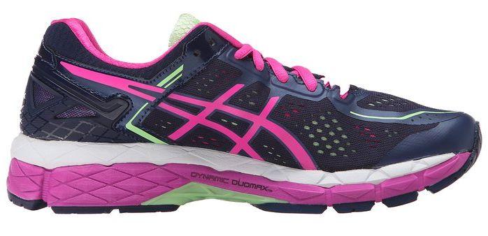 asics gel kayano 22 flat foot shoe