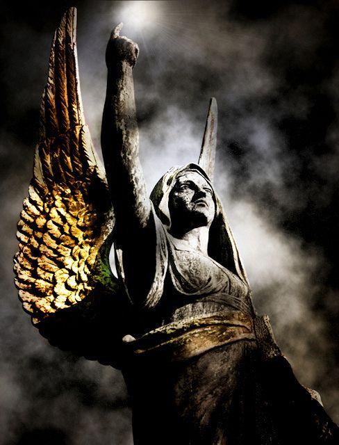 Angel Statue (Contrition) by Tiquetonne2067, via FlickrStatues Contrition, Angels Statues, Cemetery Angels, Angels Among Us, Angels Contrition, Angels Wings, Paris Cemetery, Angel Statues, Guardian Angels