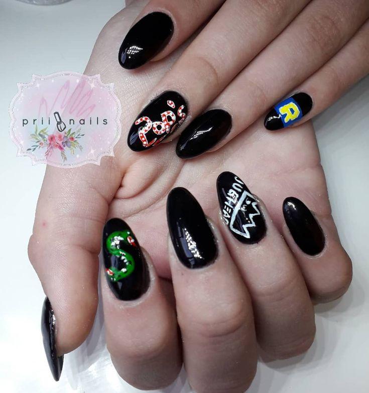 diseños de uñas de riverdale – Buscar con Google