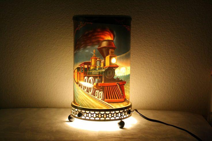 Vtg 1956 Econolite 763 Train Rotating Lamp Works Cool