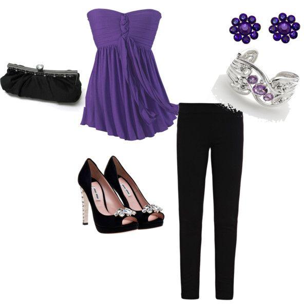 OutfitPurple Outfit, Httpbitlyepinn
