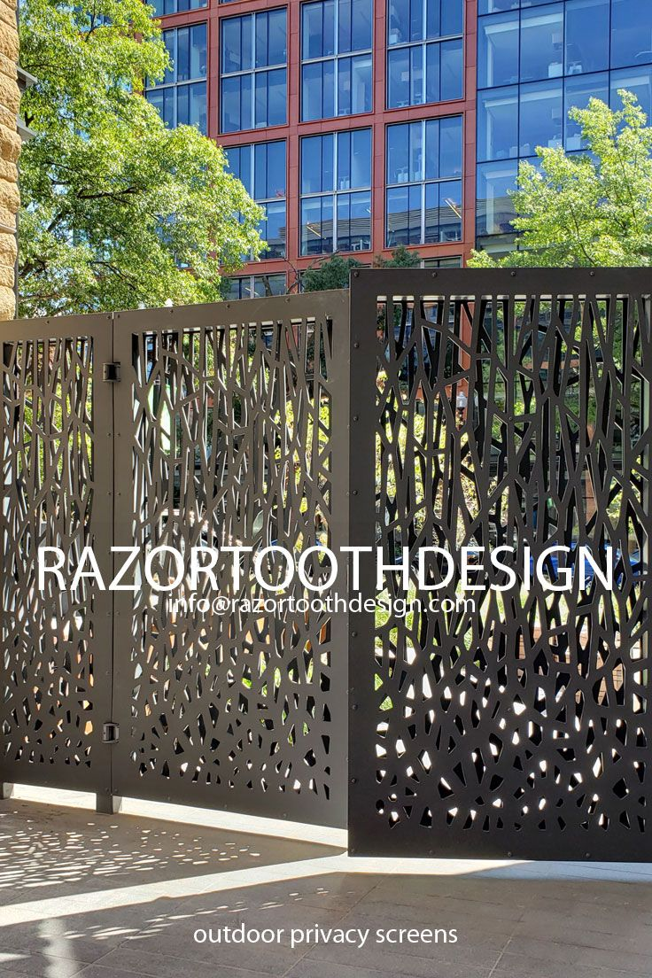 Custom Made To Order Decorative Outdoor Privacy Screens In 2020