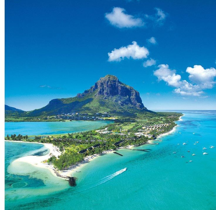 Le Morne, Mauritius. Where I met my husband.