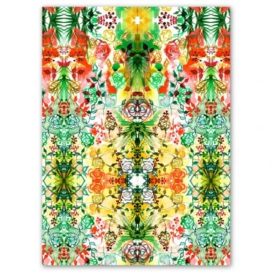 Beautiful Tropical Print Canvas from #TheHomeAus
