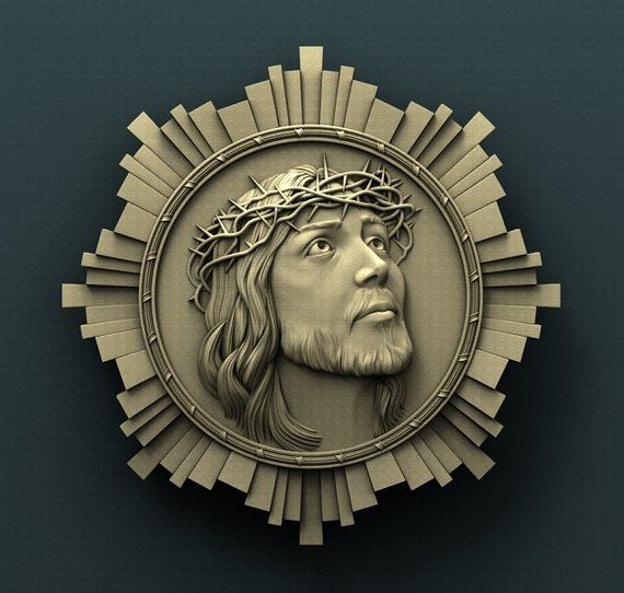 Religious Vector 3d Stl Models For CNC Router Printer Artcam Aspire