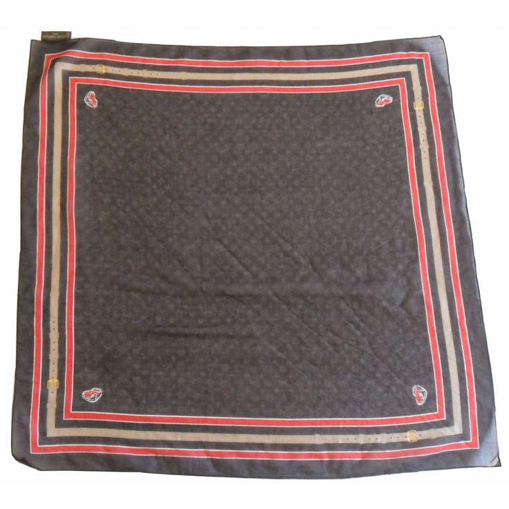Foulard type bandana de marque de chez Louis Vuitton,  100% authentique,edition limitée. Carré aérien et estival, en coton léger