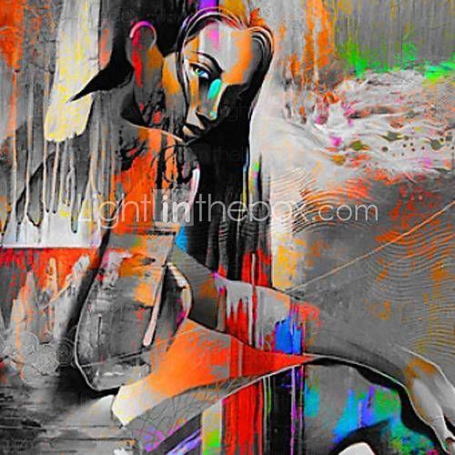17 beste idee n over handgeschilderde doek op pinterest ballerina kunst meiden muur decor en - Hang een doek ...