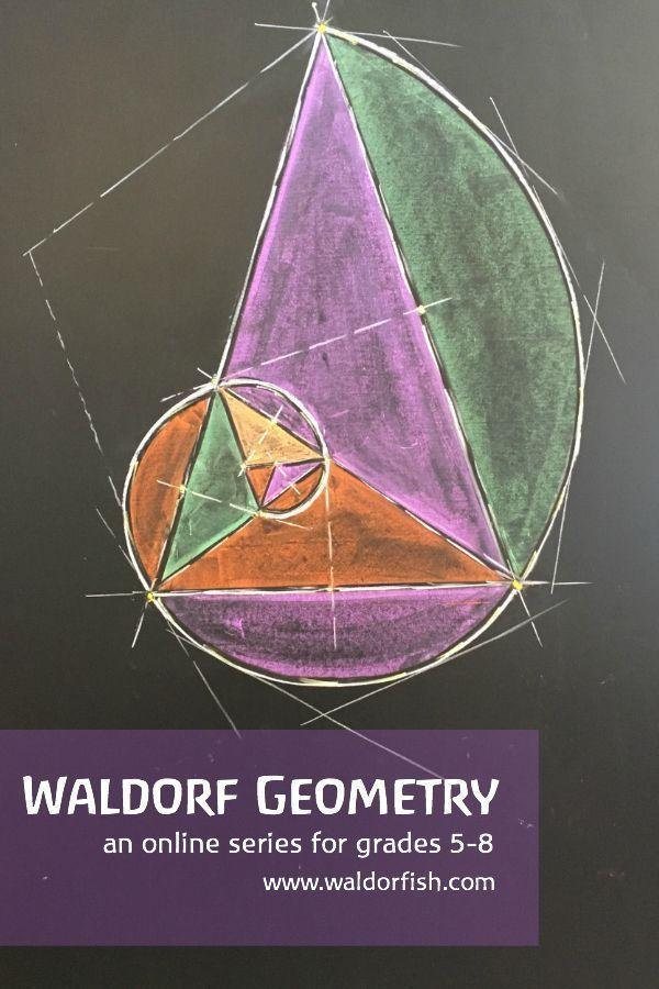 Waldorf-inspired artistic Geometry! An online program for