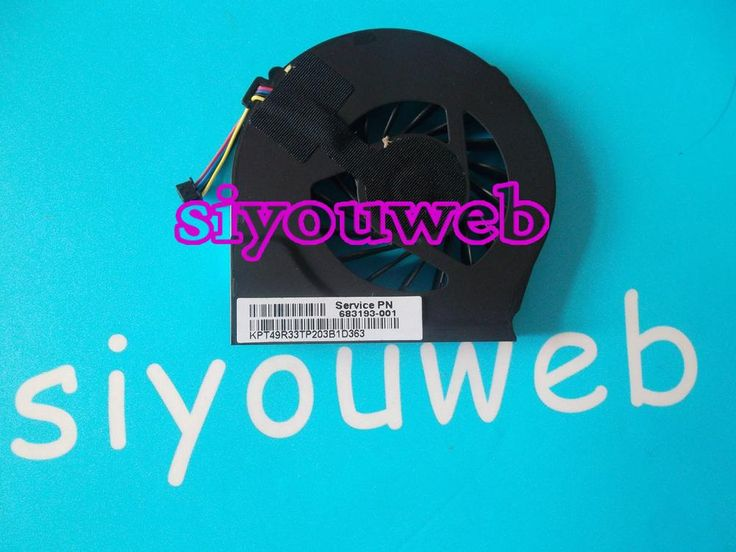 NEW CPU Cooling Fan 683193-001 for HP Pavilion G7  series Laptop CPU FREE SHIPPING 10 Pieces