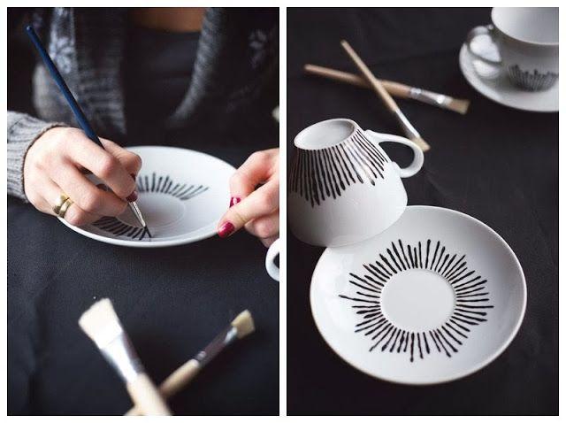 DIY tea cups { Blog - Adventskalender }