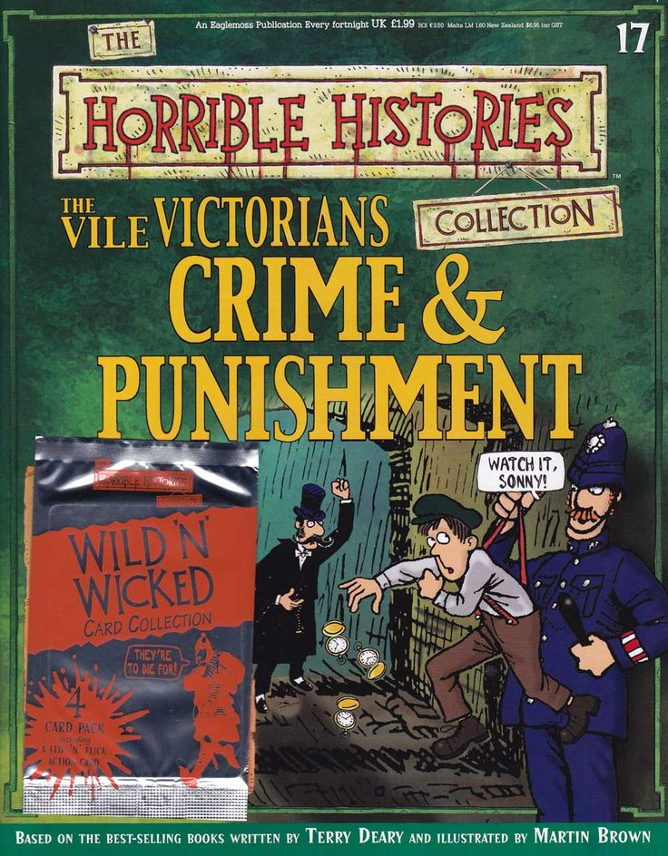 Horrible Histories Magazine # 17 : The Vile Victorians Crime and Punishment