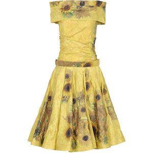 Rodarte Sunflowers Dress