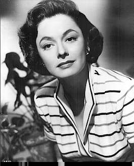 "RUTH ROMAN is Anne Morton in ""STRANGERS ON A TRAIN"" (1951)."