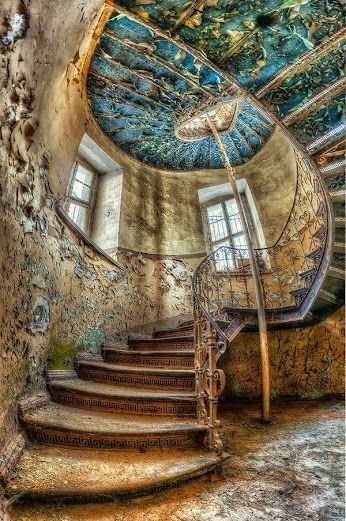 Abandoned staircase in Poland - Google+