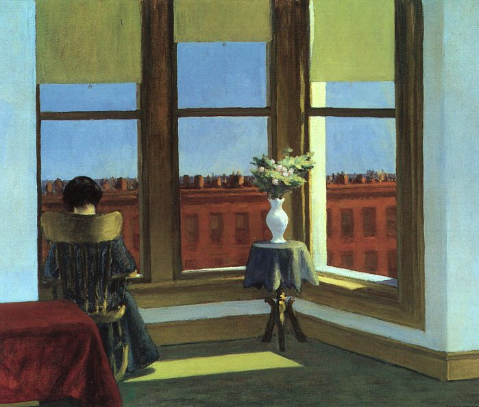 Edward Hopper, Room in Brooklyn (1932)  Museum of Fine Arts, Boston