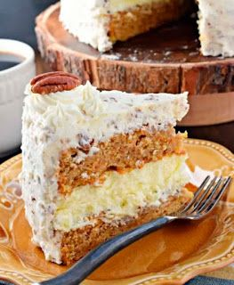 Killer recipes: Carrot & Cheesecake Cake