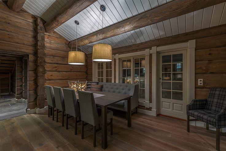 FINN – Solberglia - Flott påkostet tømmerhytte med oppstue og 5 soverom - god planløsning fra 2015 - nydelig utsikt over Trysil