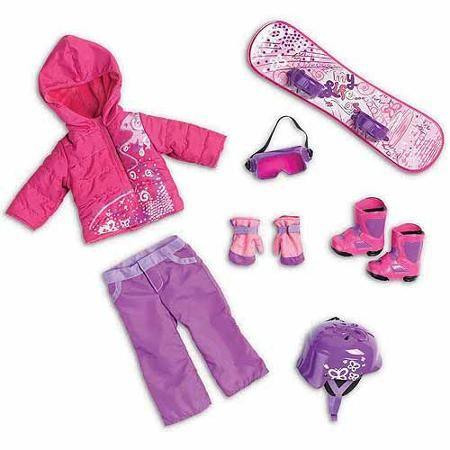 "My Life As Snowboard Set, 18"" Doll"