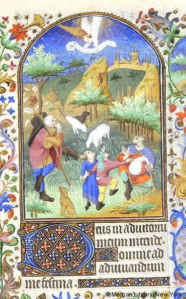Book of Hours, MS M.453 fol. 70r - Images from Medieval and Renaissance Manuscripts - The Morgan Library & Museum