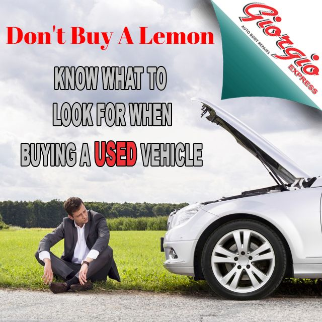 Make sure you don't buy a lemon next time you are in the market for a #usedcar http://bit.ly/25h2Xg8