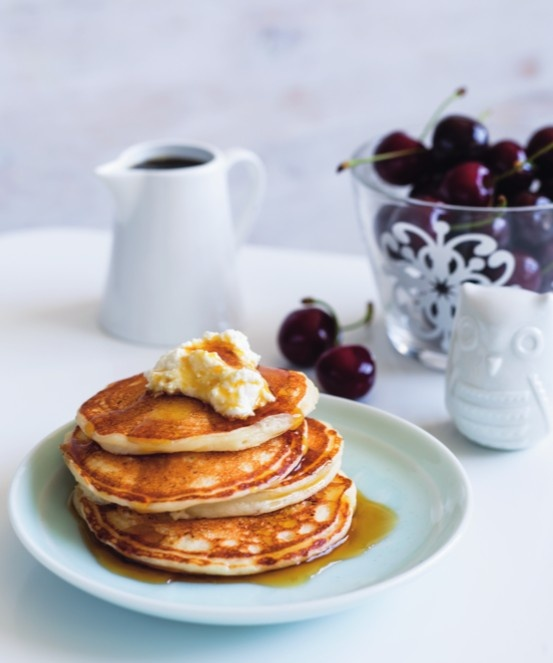 ricotta pancakes | Thermomix | www.louisefultonkeats.com