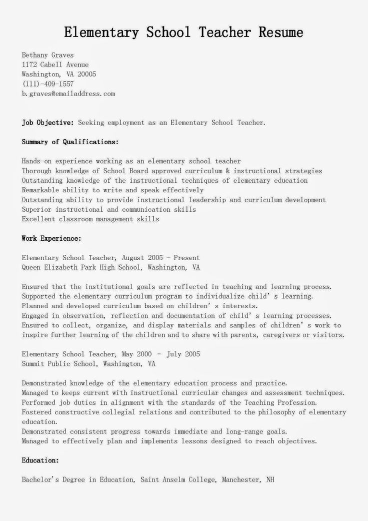 Pin on best resume example for your jobs