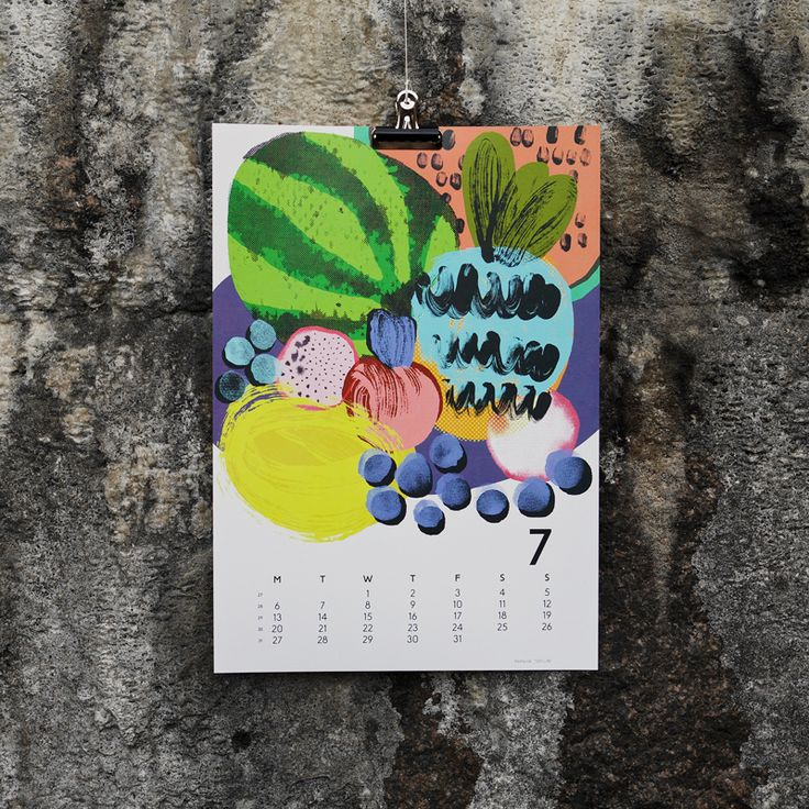 """Still life"" by Reeta Ek, for July in Calendar 15. Photography by Joona Louhi."