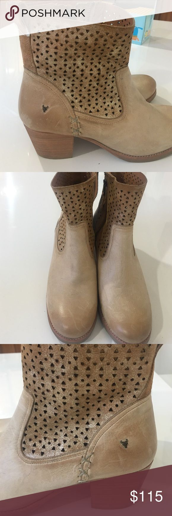 Trask women boots Real leather perfect condition worn twice Trask Shoes Ankle Boots & Booties