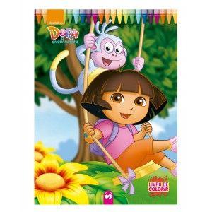 Livro Gigante - Dora a Aventureira