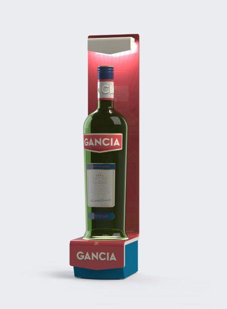 Exhibidor / Stand para Gancia 2