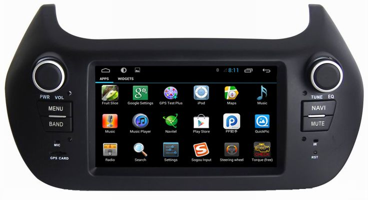 Ouchuangbo android 6.0 radio for Fiat Fiorino Peugeot Bipper Citroen Nemo with gps bluetooth wifi