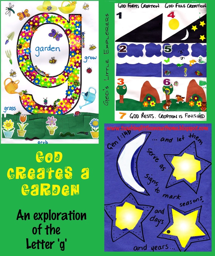 Letters Garden: 34 Best Images About Zhomeschool-preschool-g Is For Garden