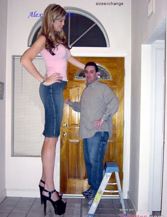 First tall woman short guy banged