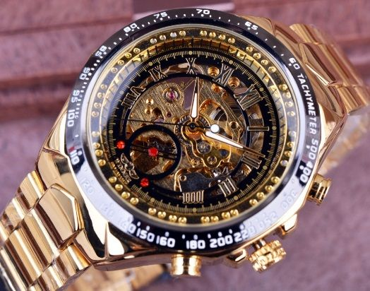 Relógio de Luxo Aço Inox - Winner (Frete Grátis para todo Brasil)