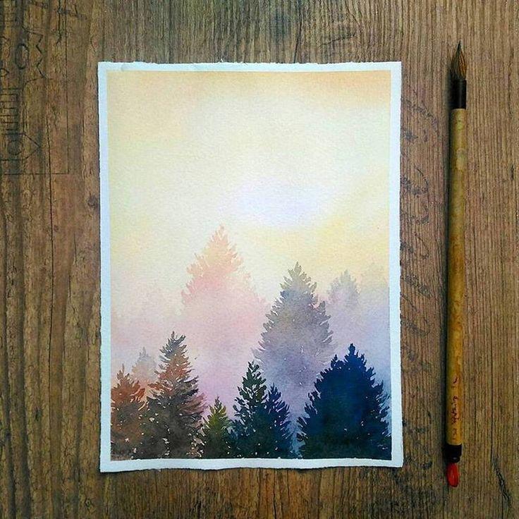 🎨 Aquarellist: Jennifer Brown #watercolor #waterblog # акварель #aq