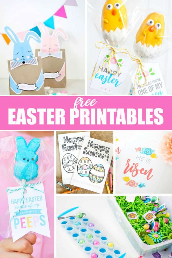 20 Free Easter Printables – Get your home ready for this special holiday with Ea…   – Holidays