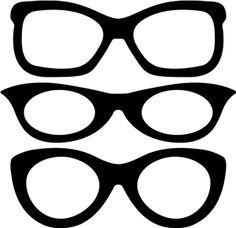 lentes divertidos para imprimir - Buscar con Google